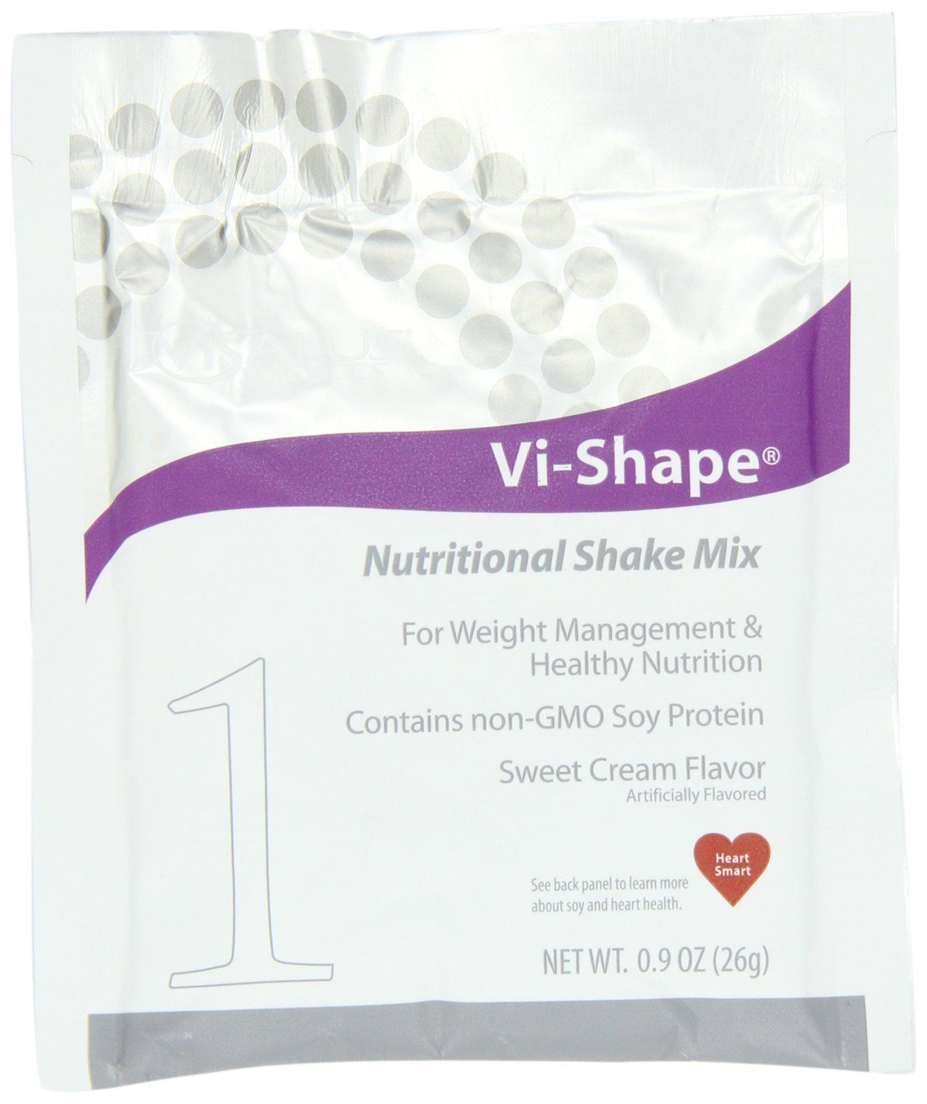 ViSalus Vi-Shape Nutritional Shake Mix Sweet Cream - Box of 15 Single Serving Packets