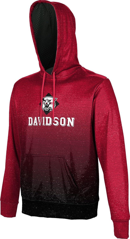 Ombre School Spirit Sweatshirt ProSphere Davidson College Mens Pullover Hoodie