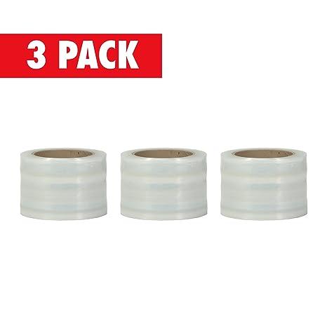 Amazon.com: Plástico Elástico envoltura de Pallet Core, 3 x ...