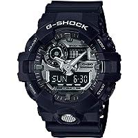 Casio Men's G Shock GA710-1A Black Rubber Quartz Sport Watch