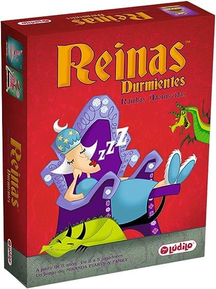 Comprar juego de mesa: Lúdilo- Reinas durmientes, Juego de Cartas Educativo para niños, Multicolor (80363)