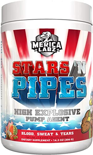 Merica Labz Stars N Pipes – Blood Sweat and Tears