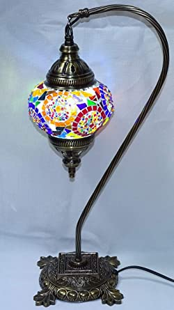 de cm 13 lampara mesa41 x turca cm diametro sobre CBderWQxo