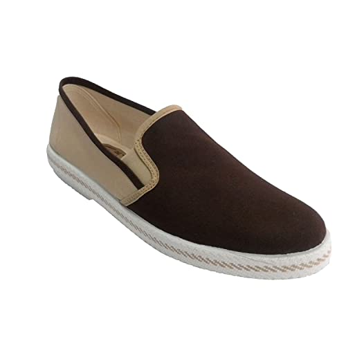 Zapatilla Hombre para pasear en Tonos Marrones Muñoz y Tercero en Combinado Talla 45: Amazon.es: Zapatos y complementos