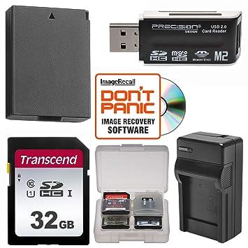 Amazon.com: LP-E10 batería + 32 GB SD Card esencial Bundle y ...