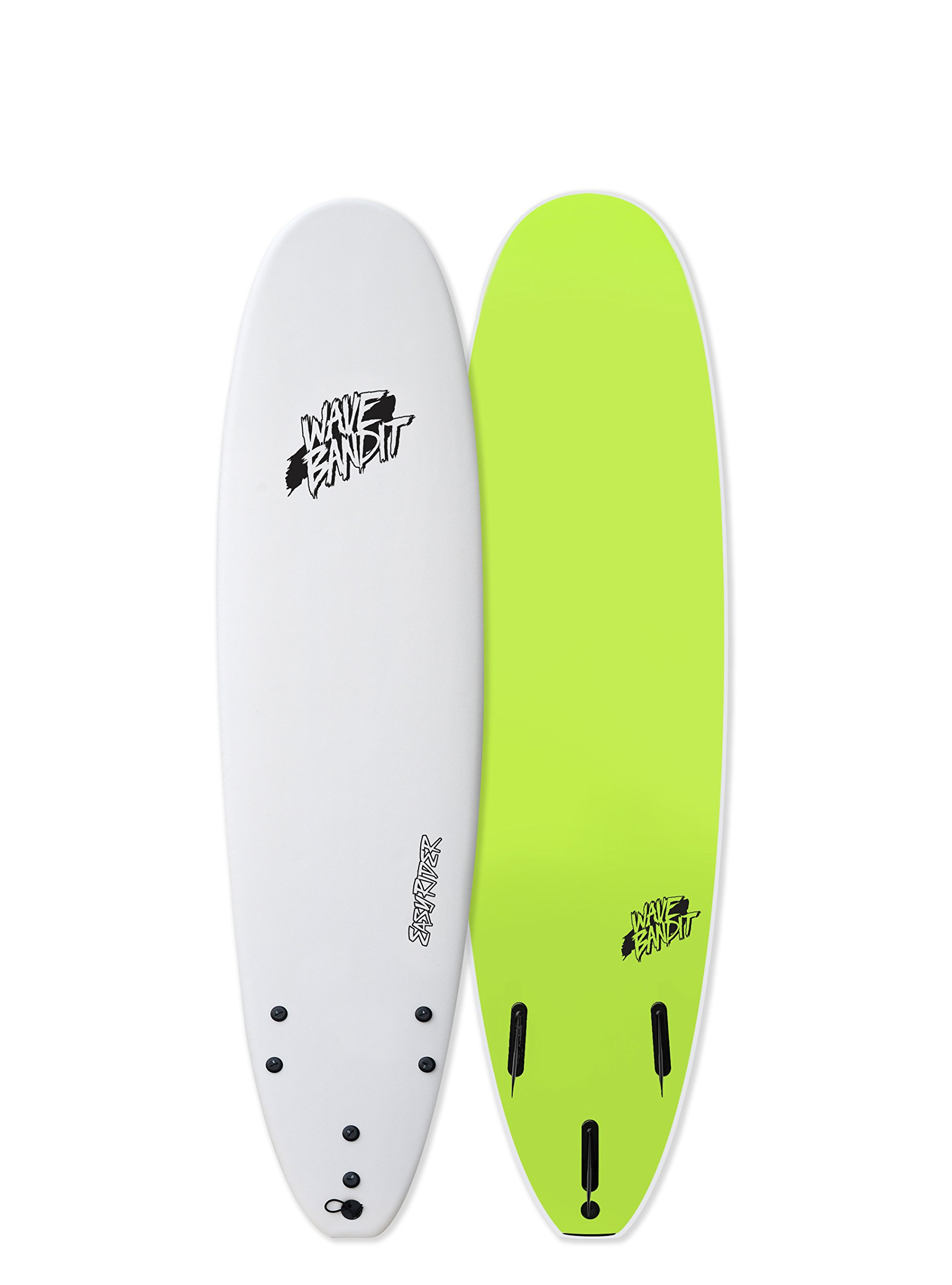 Catch Surf Wave Bandit EZ Rider 7'0'' Short Surf Board, White