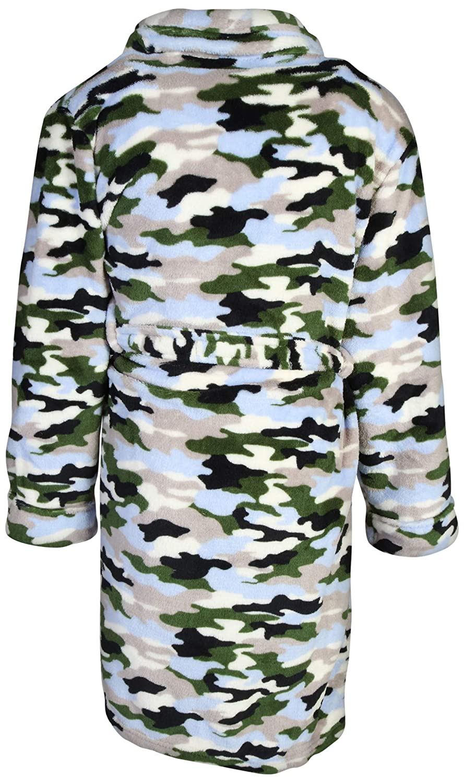 Too Cool 2 Sleep Boys Printed Robe Slippers
