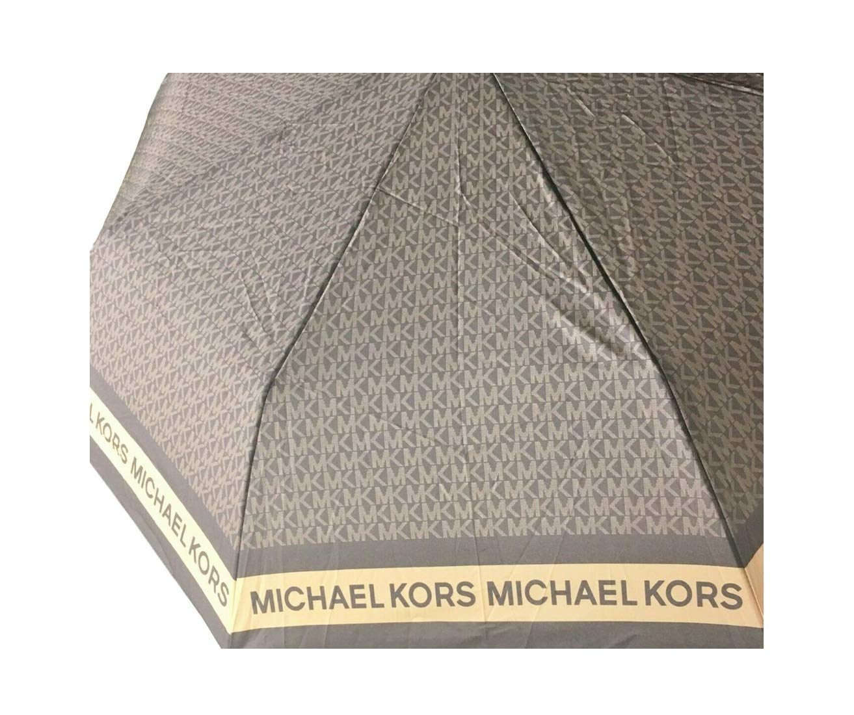 MK Logo Umbrella Brown Signature by Michael Michael Kors