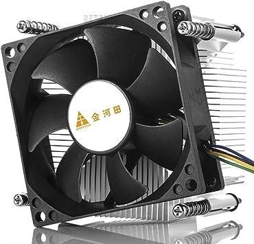 GOLDEN FIELD ICE500 Disipador térmico y ventilador Radiador de ...