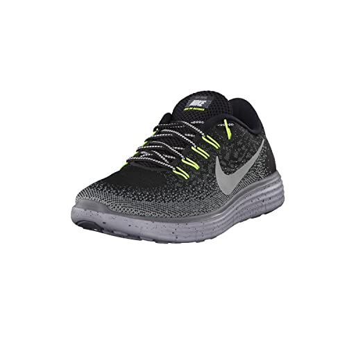 1944b2ada76ba NIKE Women s Free RN Distance Shield Black Metallic Silver-Dark  Grey-Stealth 8  Buy Online at Low Prices in India - Amazon.in