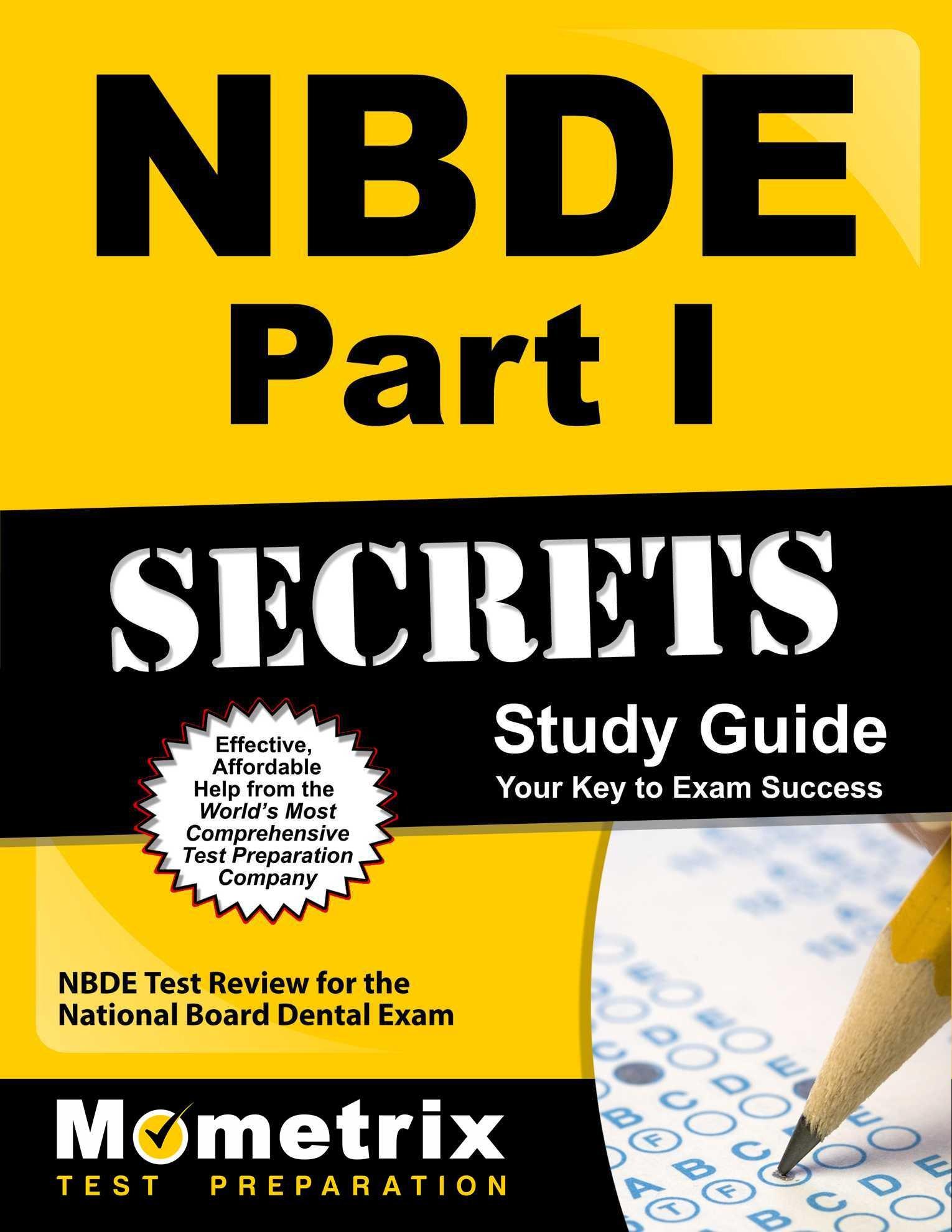 Buy NBDE Part I Secrets Study Guide: NBDE Test Review for the ...