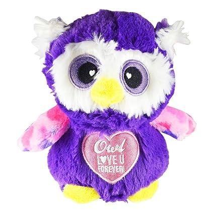 Amazon Com Novelty Inc 7 Valentine S Day Owl Plush Stuffed