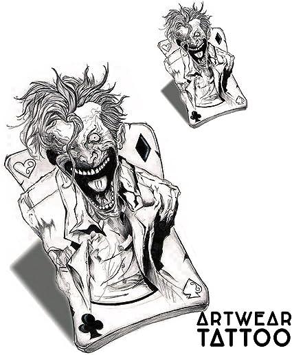 2 Tatuajes temporales Realistico di artista
