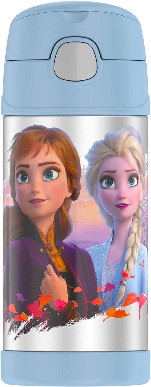 サーモス ストロー ボトル アナと雪の女王
