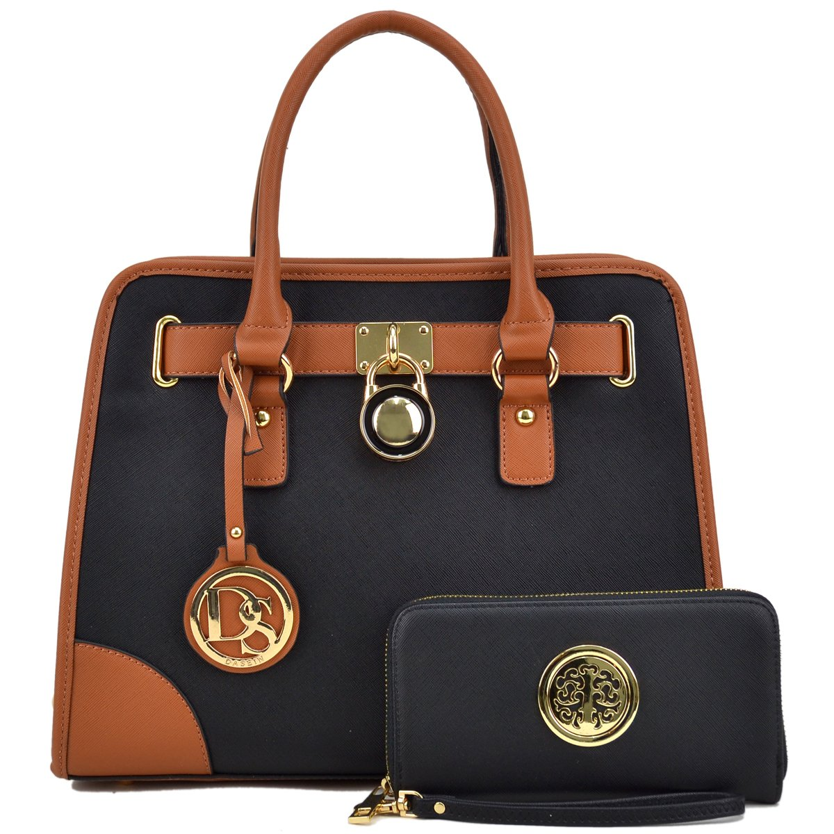 Women Designer Handbags and Purses Ladies Satchel Bags Shoulder Bags Top  Handle Bags w Matching Wallet  Handbags  Amazon.com 1f0e45109dcc3