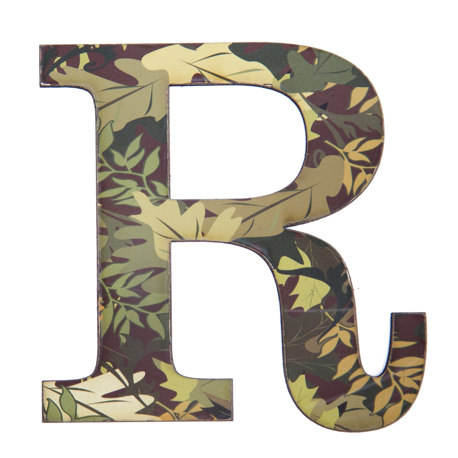 Amazon Com 11 Tall Mossy Oak Designer Camo Wall Letter R Camo Pattern 3d Wall Decor Unique Wall Initial For Living Room Bedroom Man Cave Boys Room Girls