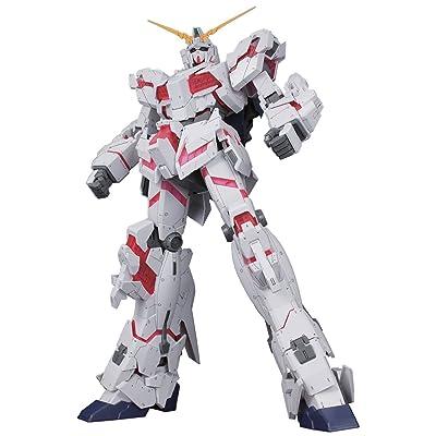 Bandai Hobby Mega Size 1/48 Unicorn Gundam [Destroy Mode] Gundam UC Model Kit Figure: Toys & Games