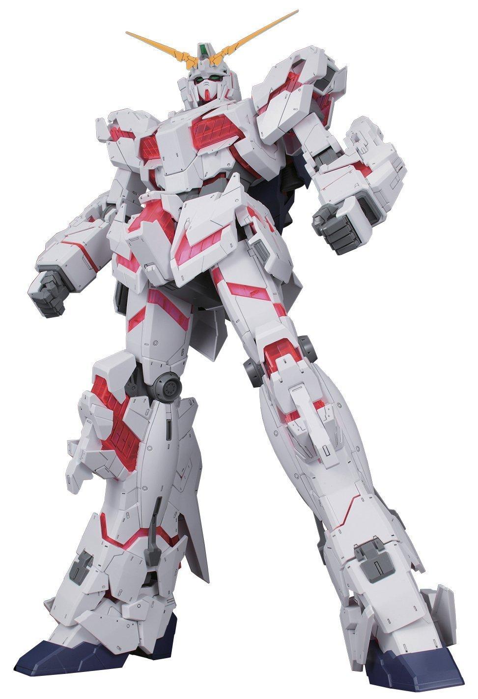 Bandai Hobby Mega Size 1/48 Unicorn Gundam [Destroy Mode] Gundam UC Model Kit Figure by Bandai Hobby (Image #13)