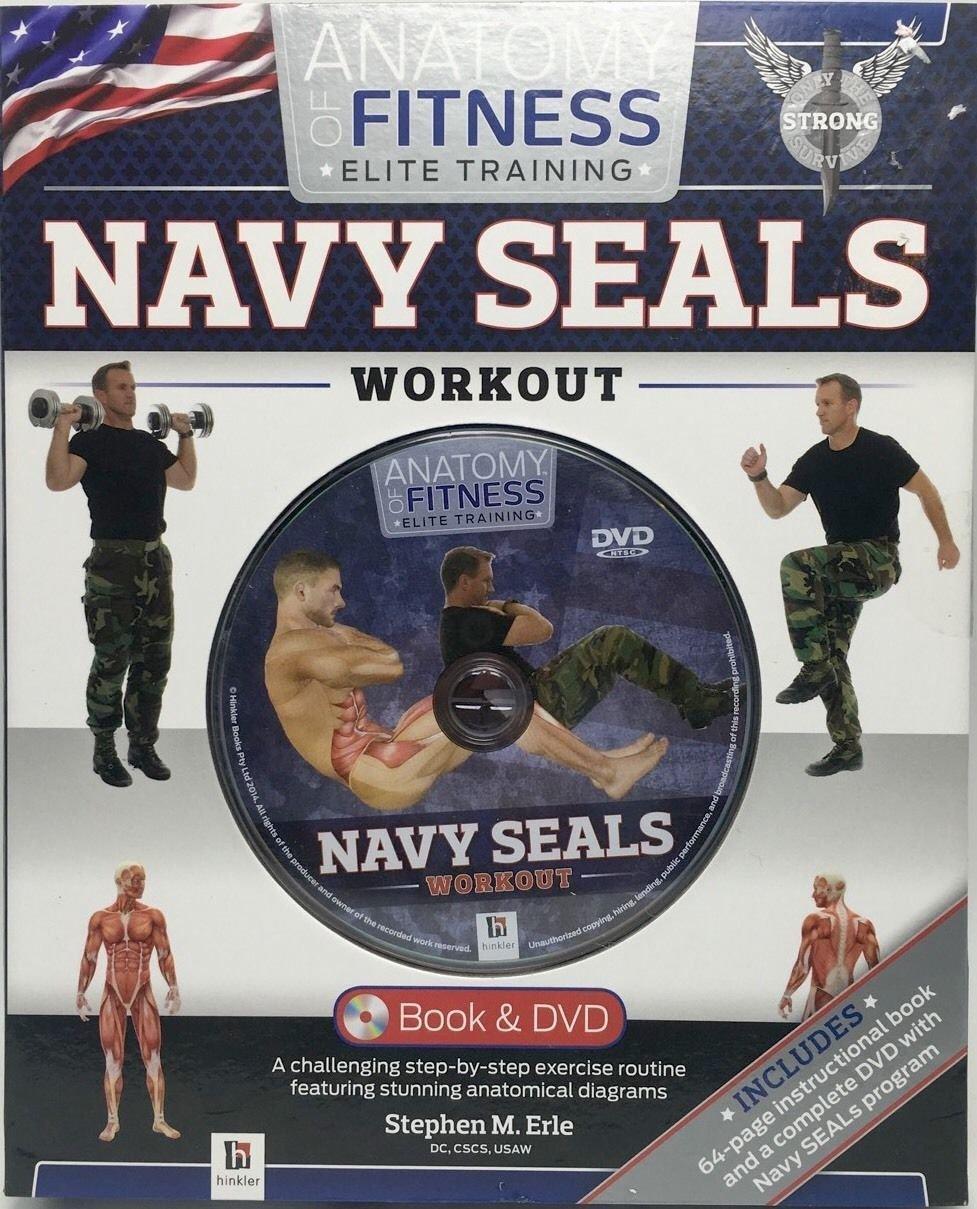 Read Online Navy Seals Boot Camp Workout Book & DVD Training Set Book (Anatomy of Fitness Elite Training) pdf epub