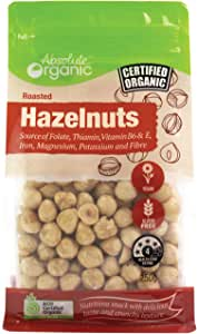 Absolute Organic Roasted Hazelnuts, 250 g