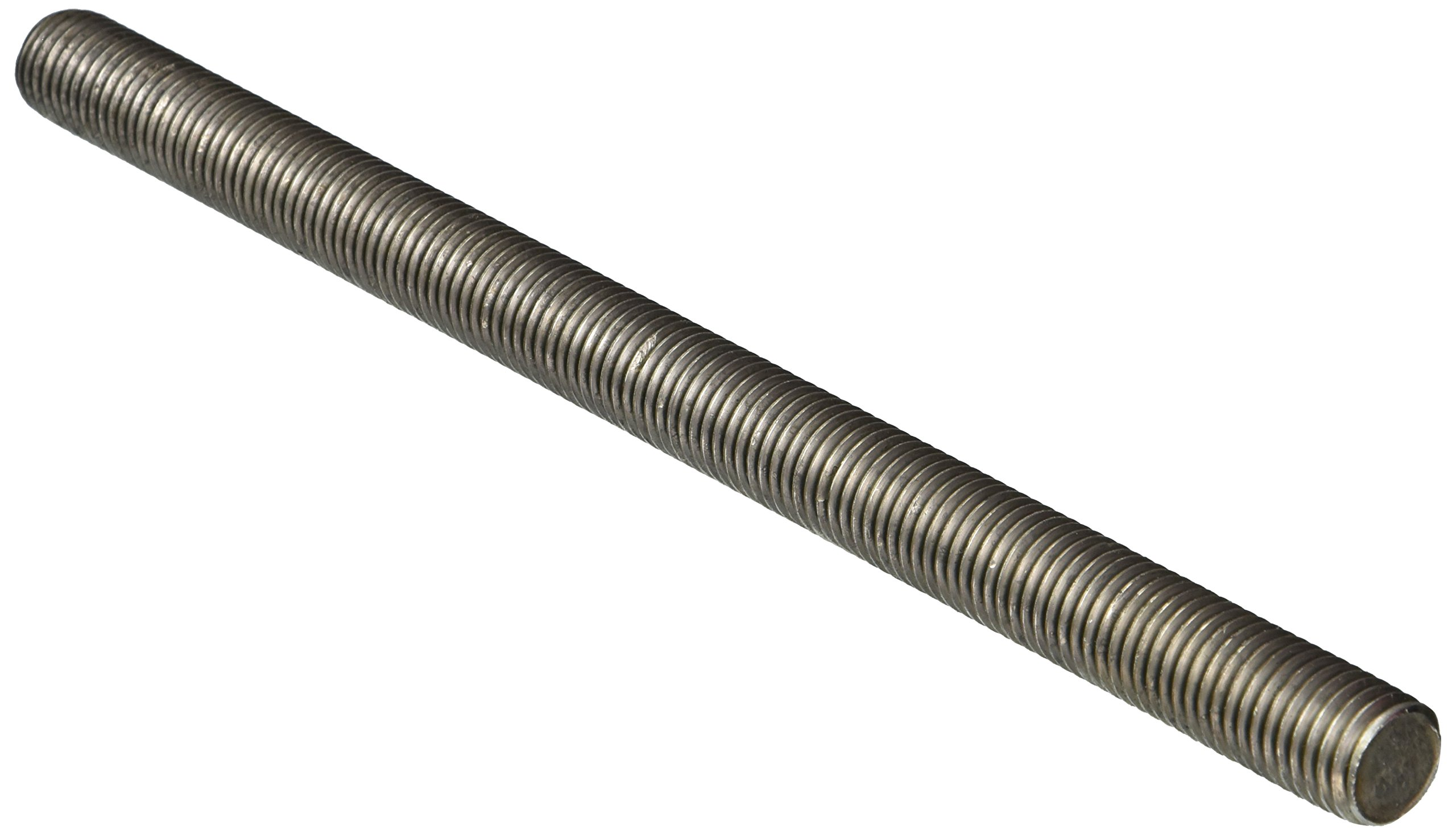 18-8 Stainless Steel Fully Threaded Rod, 3/4''-10 Thread Size, 12'' Length, Right Hand Threads