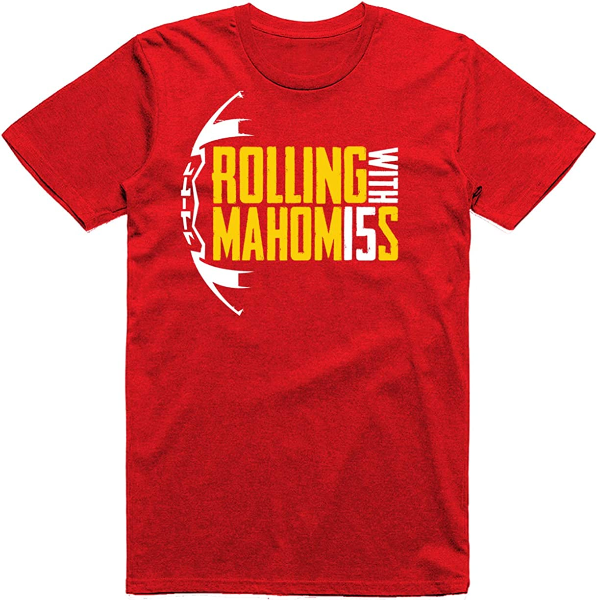 Wishful Inking Rollin with Mahomes Kansas City Football Fans Classic T-Shirt