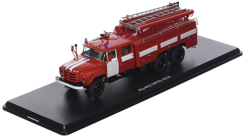 Start Scale Models ssm1093 – Feuerwehrauto ac-40 (133gya) Weiß Stripes