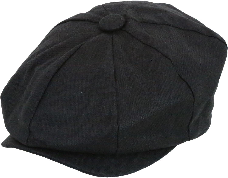 Epoch hats Men's Newsboy Linen Applejack Gatsby Collection Ivy Hats