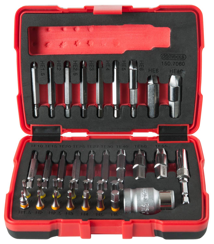 KS Tools 150.1330 Schrauben-Ausdreher-Satz 6-tlg.