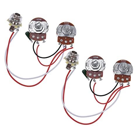 amazon com bass wiring harness prewired kit for precision bass rh amazon com Jimmy Page Wiring Harness Telelcaster Wiring Harness