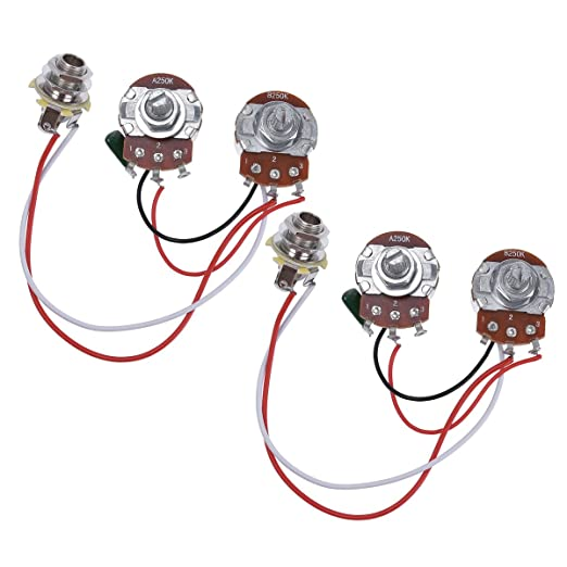 71Kg1QxLs0L._SX522_ amazon com bass wiring harness prewired kit for precision bass EZ Wiring Harness Diagram Chevy at bayanpartner.co