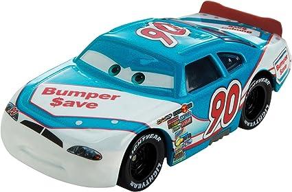 Amazon Com Disney Cars Piston Cup Ponchy 1 55 Diecast Car 3 18 Toys Games