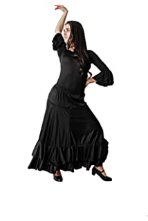 Poachers Falda Flamenca Mujer ensayo Vestido Playa Mujer Largo ...