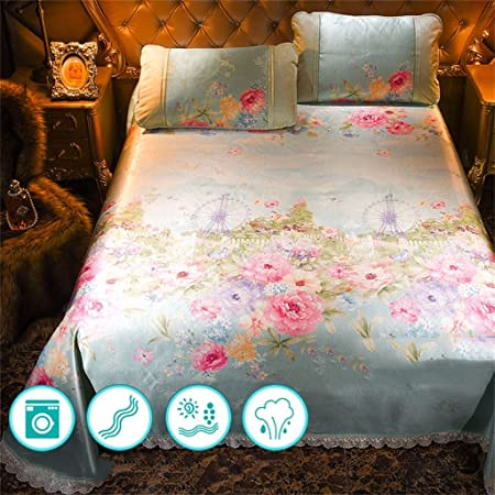 Cool Bed Sheets. Cool Mattress Ice Silk Mats Three Piece Suit Of Bed Sheets