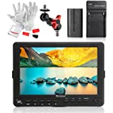 Bestview S7 7 Inch HDMI Camera Field Monitor with 2200mAh Battery Kit - 10bit IPS Screen 1920X1200 Supports 4096X2160P@24Hz 4K Signal Features Histogram/Waveform/Internal Color Bar/Zebra Etc
