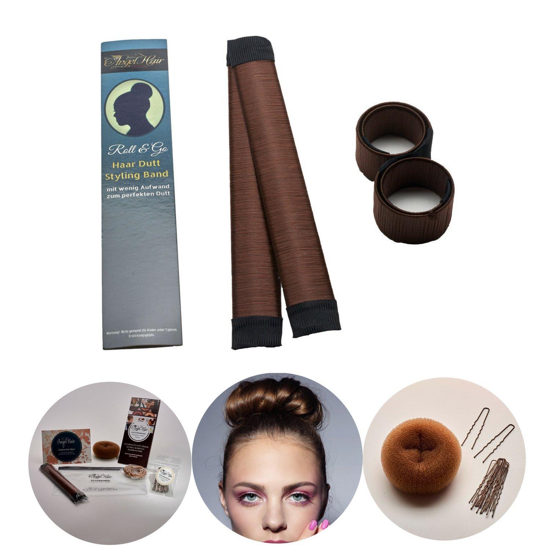 Roll Go Dutt Hilfe Styling Set Von Angel Hair Extensions Inhalt 2