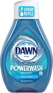 Dawn Platinum Powerwash Dish Spray Fresh Scent Refill 16 fl oz