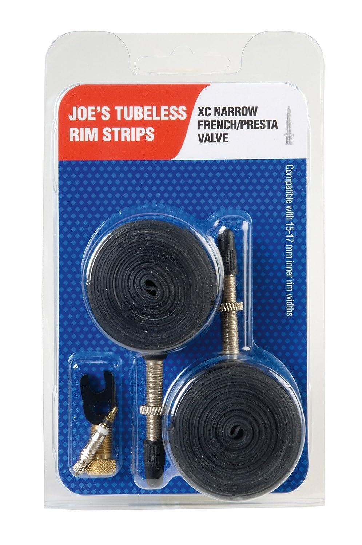 JOES Flats Kit Convertidor A Rueda Tubeless, Unisex adulto, Negro, 15-19 mm JoeŽS 7290101180623