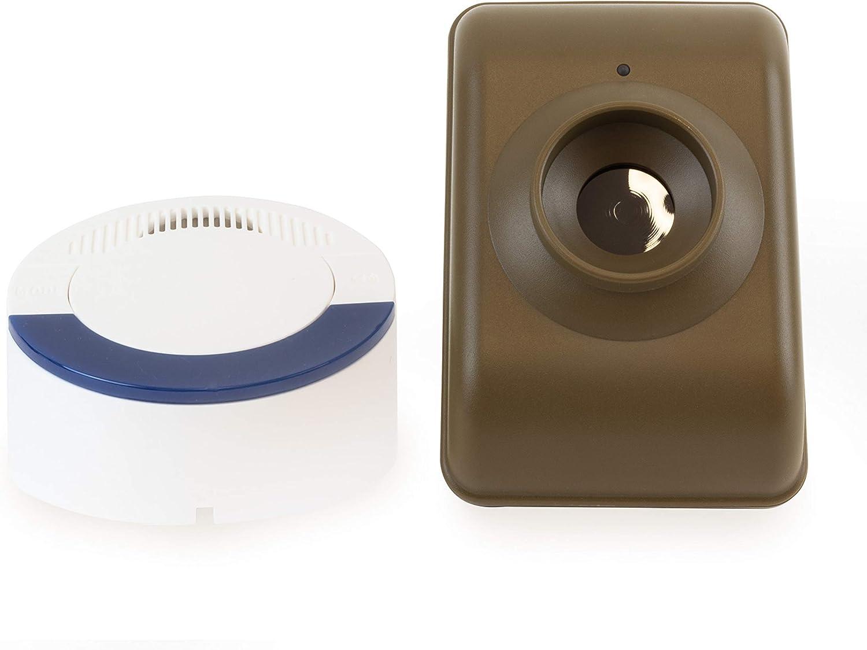 Dakota Alert DCMA-4000 Wireless Motion Detector Driveway Alarm System - DCMT-4000 Passive Infrared Transmitter and DCR-4000 Receiver