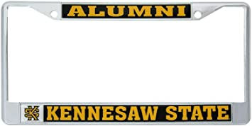 Alumni Duquesne University Dukes NCAA Metal License Plate Frame for Front or Back of Car Officially Licensed