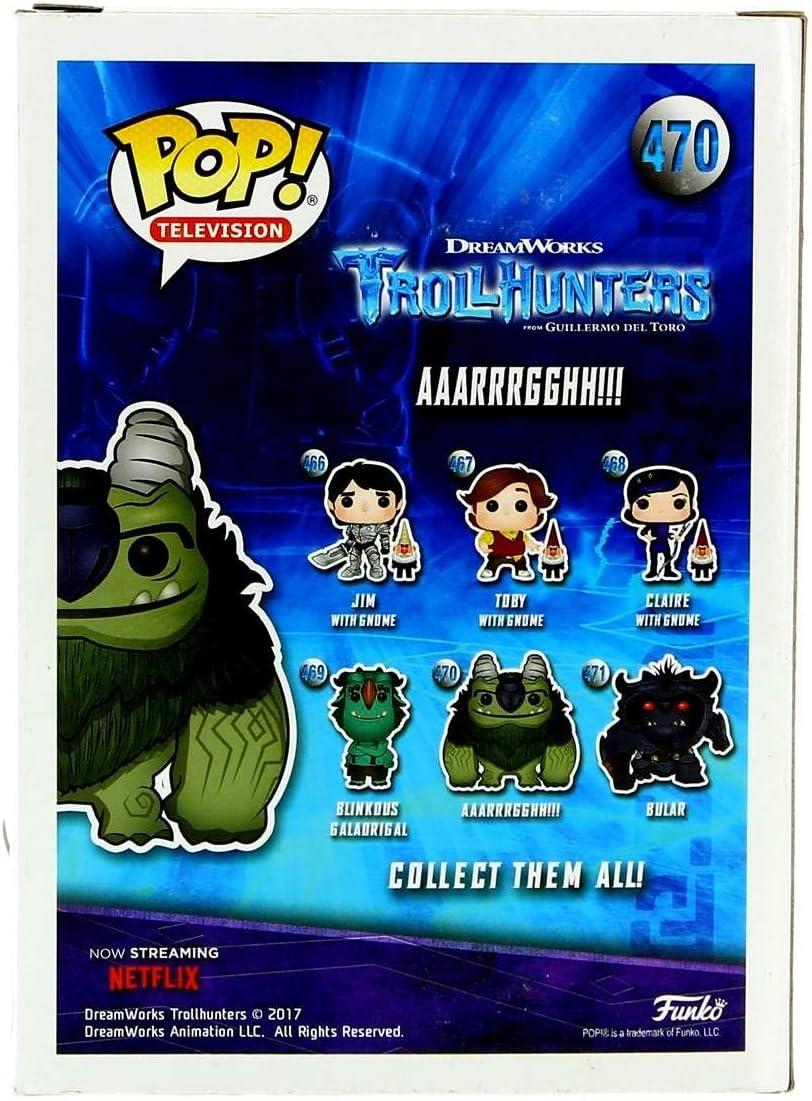Funko 13695 Color Verde Trollhunters Trollhunters-13695-PX-1SS Figura de Vinilo AAARRRGGHH Gris