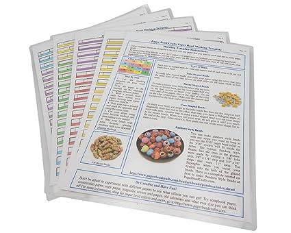 Paper Bead Template   Amazon Com Paper Bead Marking Template