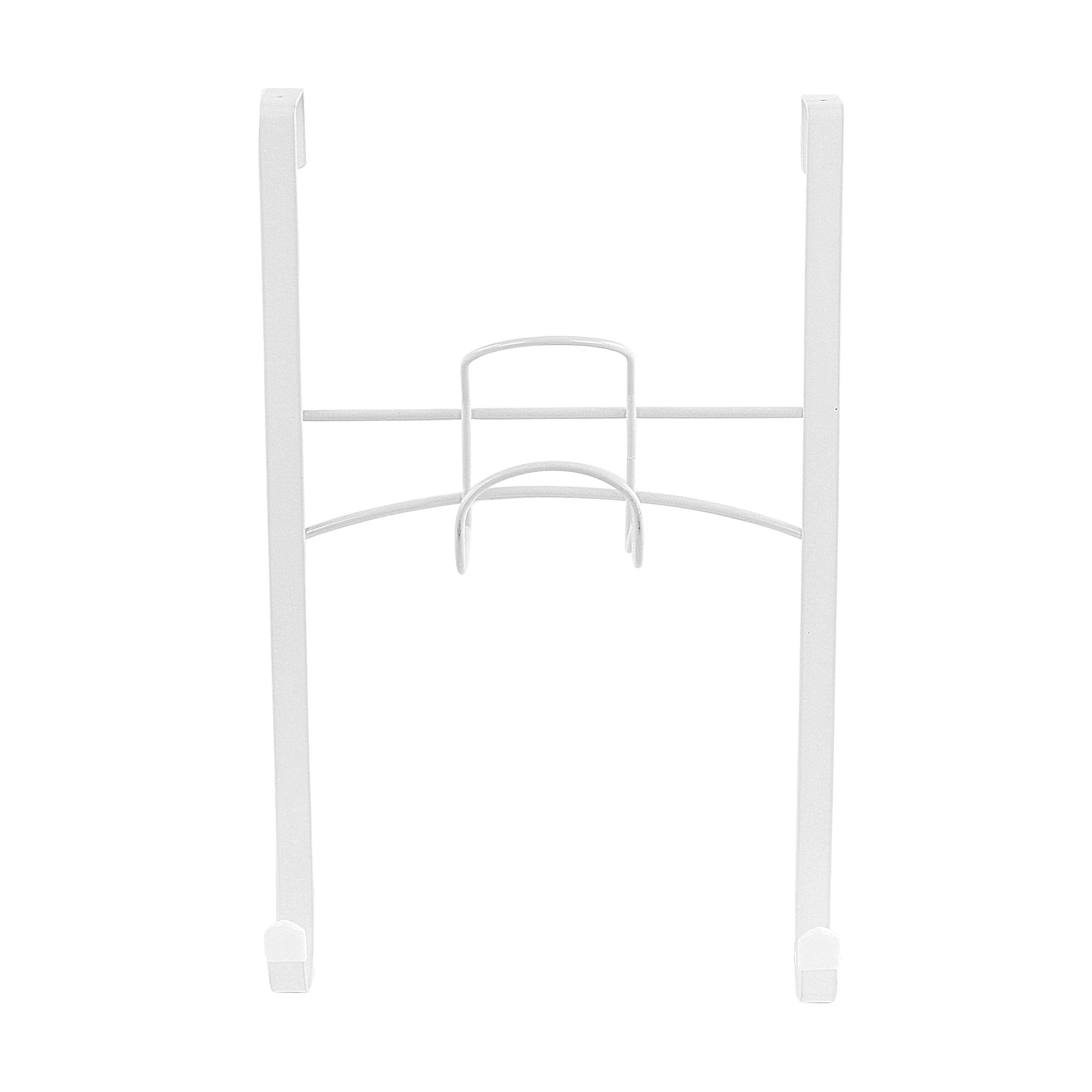 Spectrum Diversified Iron and Ironing Board Holder, Over the Door, White