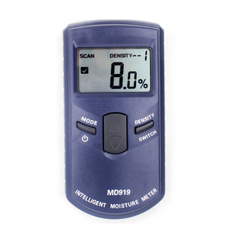 Easy Go Shopping Detector de medidor de Humedad inductivo Papel Digital medidor medidor MD919 Rango 4% ~ 40%: Amazon.es: Electrónica