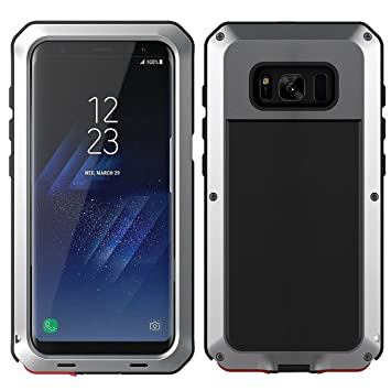 MRSMR Funda Samsung Galaxy S8 Plus, Prueba de Golpes Anti-Arañazos Doble Capa Armadura Proteccion Cover Case Caso Funda Cáscara para Samsung S8 ...