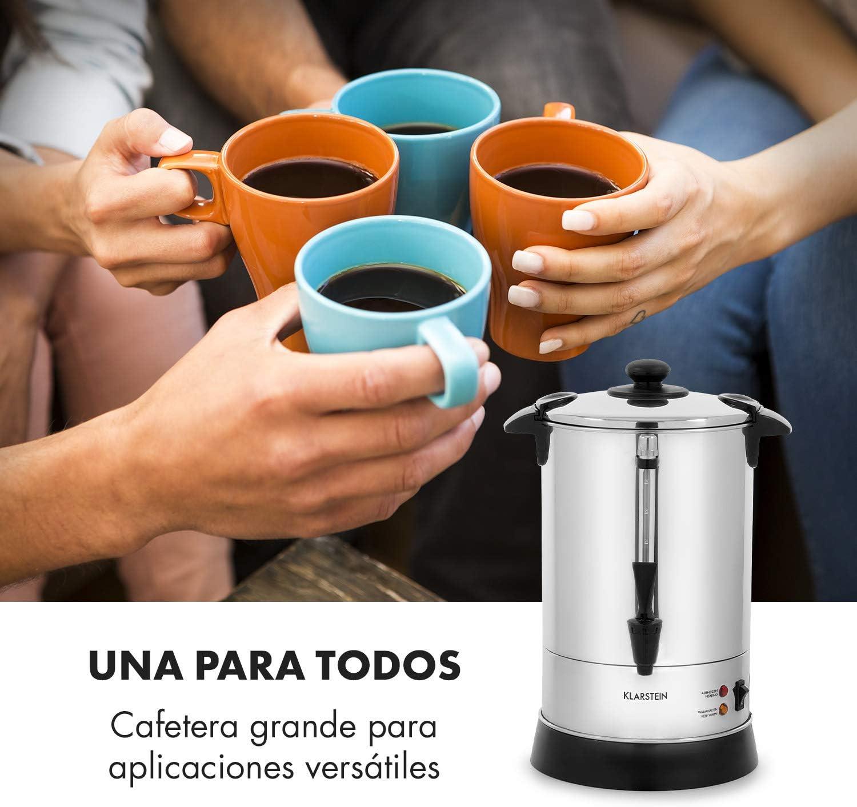Klarstein Excelsa Cafetera de filtro redondo - Capacidad para 30 ...