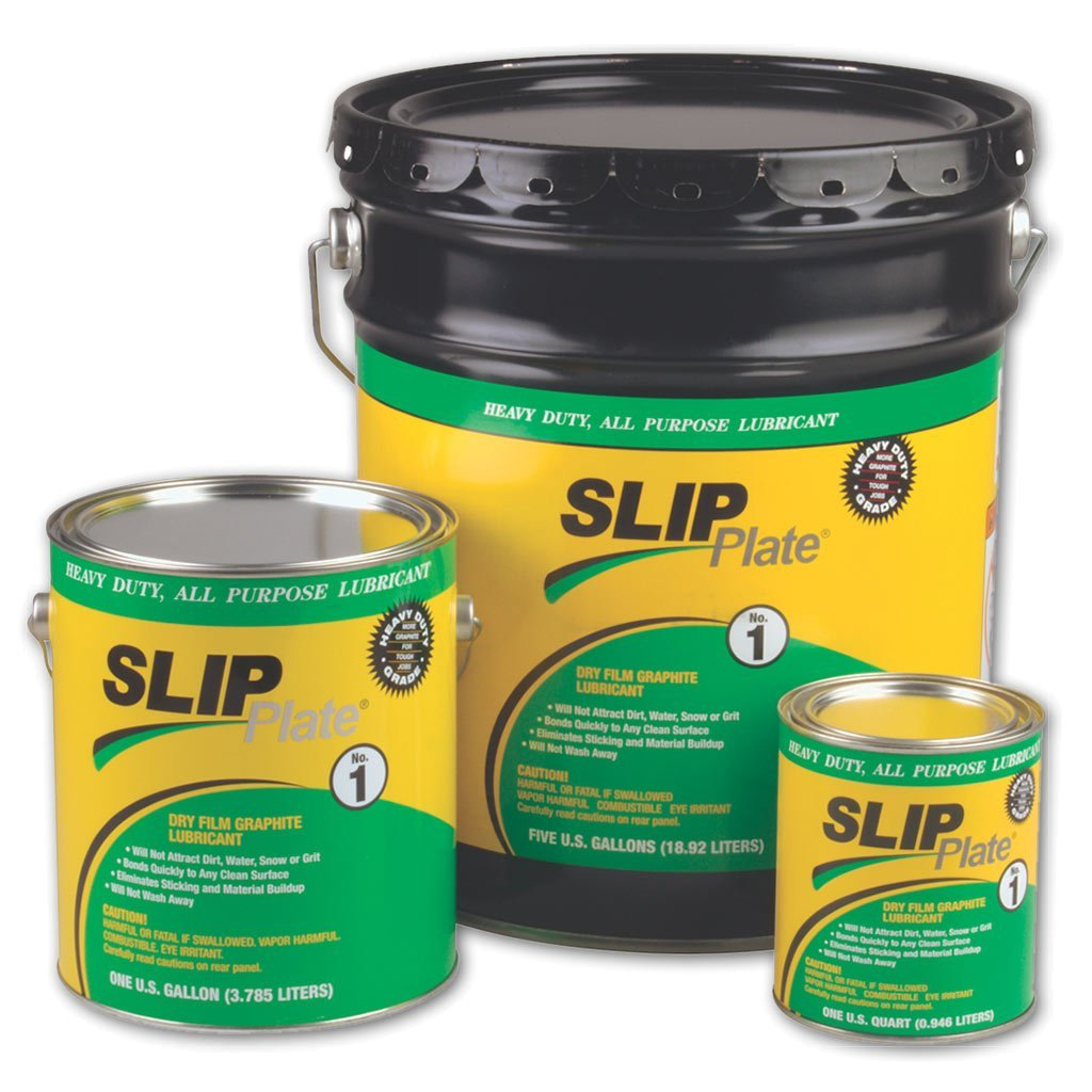 SLIP Plate® No. 1, Gallon (4 Pack) by Slip Plate