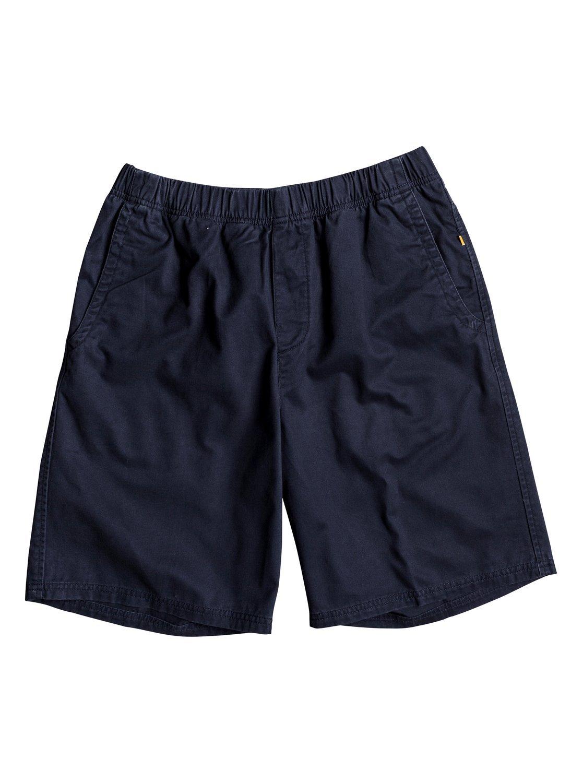 Quiksilver Waterman Men's Cabo Walk Short, Navy Blazer, Small