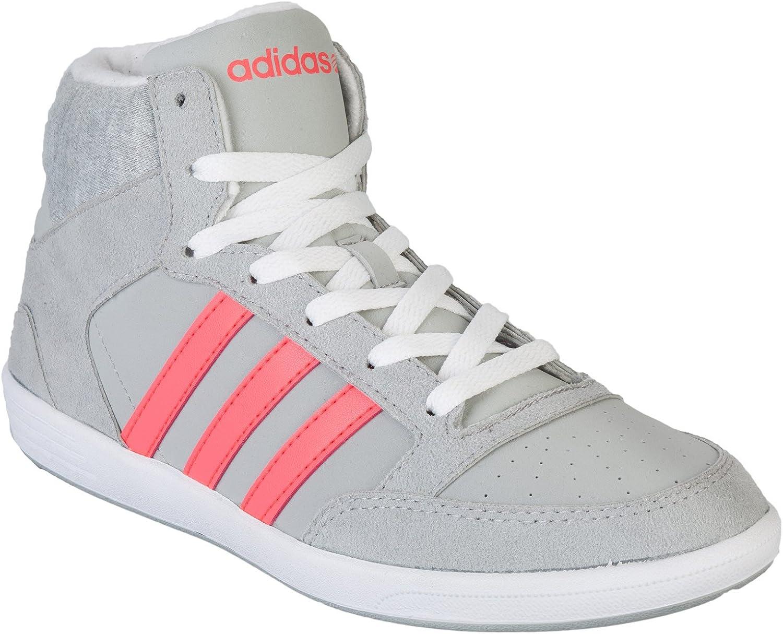 Amazon.com | Adidas NEO Women's Hoops Mid Trainers | Track & Field ...