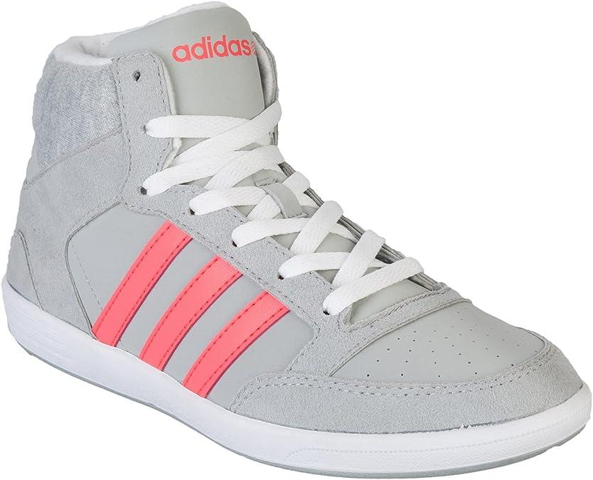 Amazon.com | Adidas NEO Women's Hoops Mid Trainers | Track ...